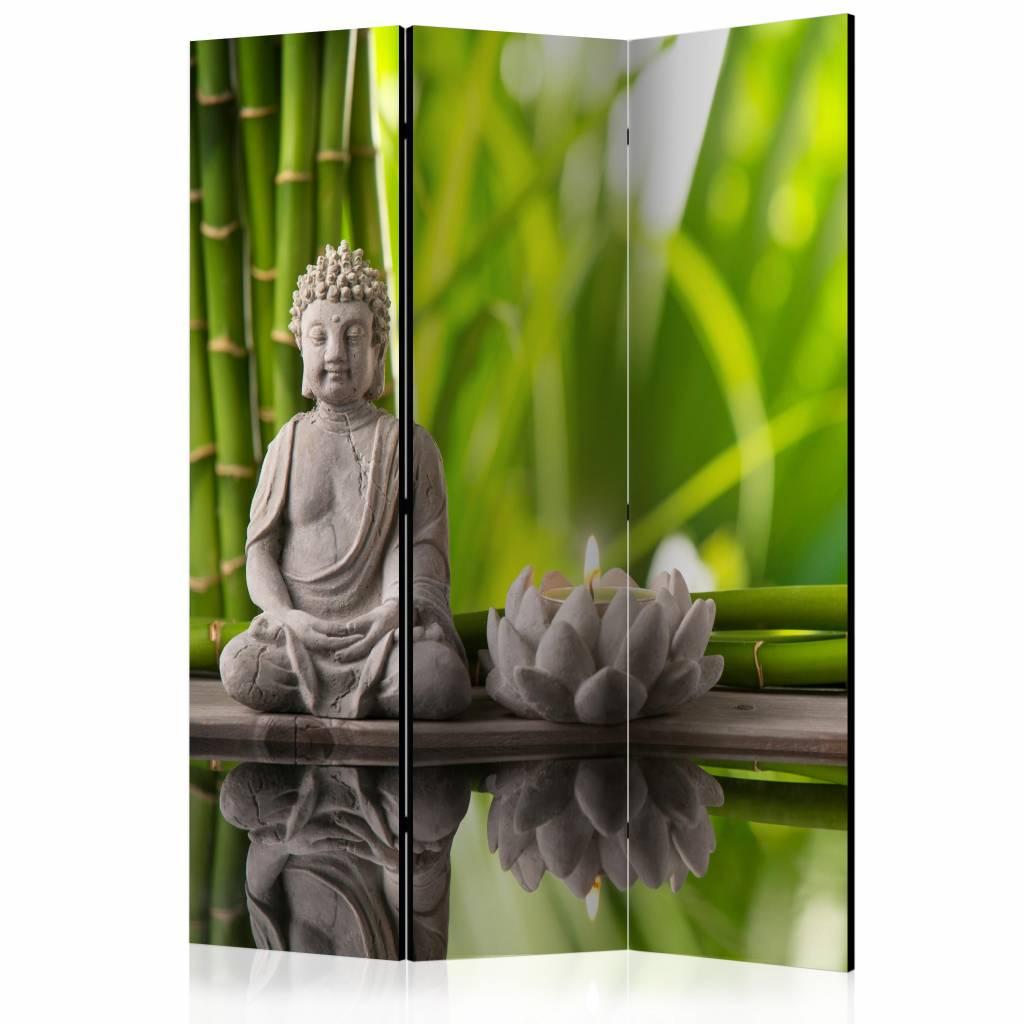 Vouwscherm – Boeddha, Meditatie 135x172cm | Karo-art | 5902875658797