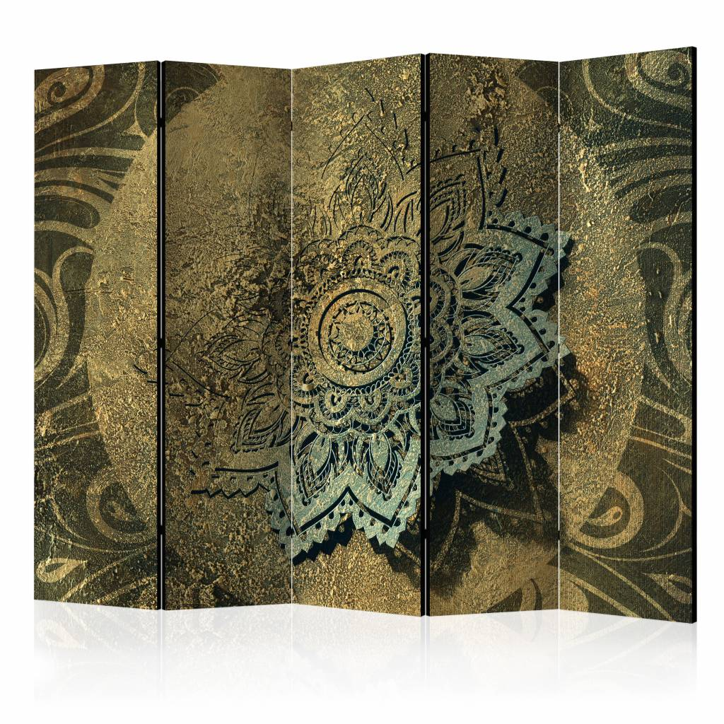 Vouwscherm – Gouden Schat 225X172cm | Karo-art | 5902875657684