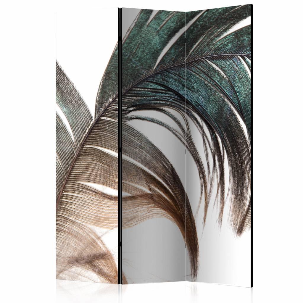 Vouwscherm – Mooie veer 135×172 cm | Karo-art | 5902875660387