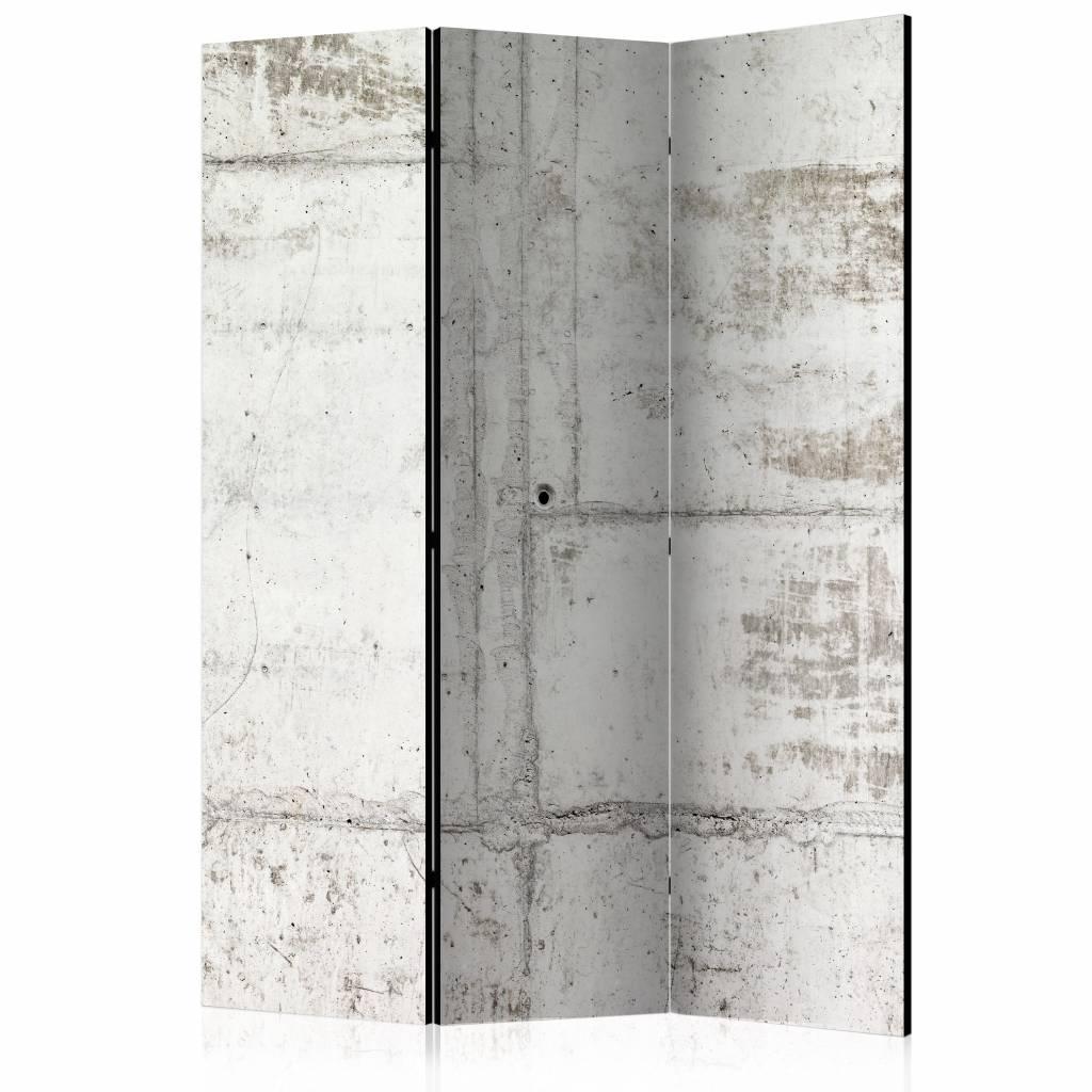 Vouwscherm – Muur van beton 135×172 cm | Karo-art | 5902875659305