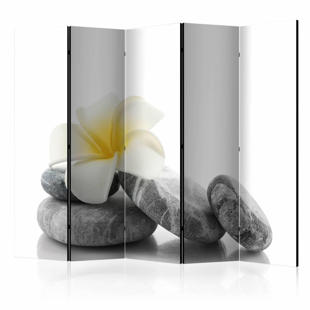 Vouwscherm – Witte Lotus 225x172cm | Karo-art | 5902875658926
