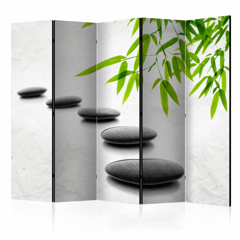 Vouwscherm – Zen Stenen 225x172cm | Karo-art | 5902875661261