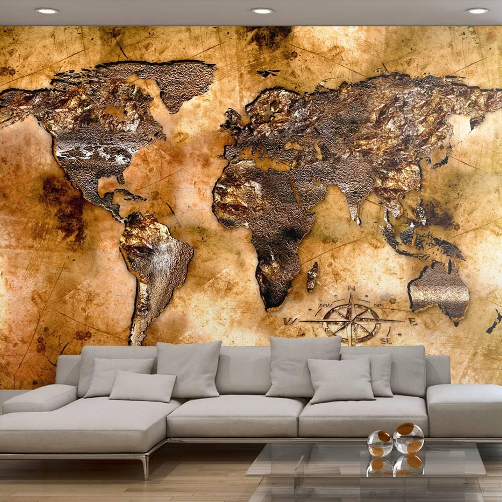 Fotobehang – Opaalachtige Continenten | Karo-art | 5902875600000