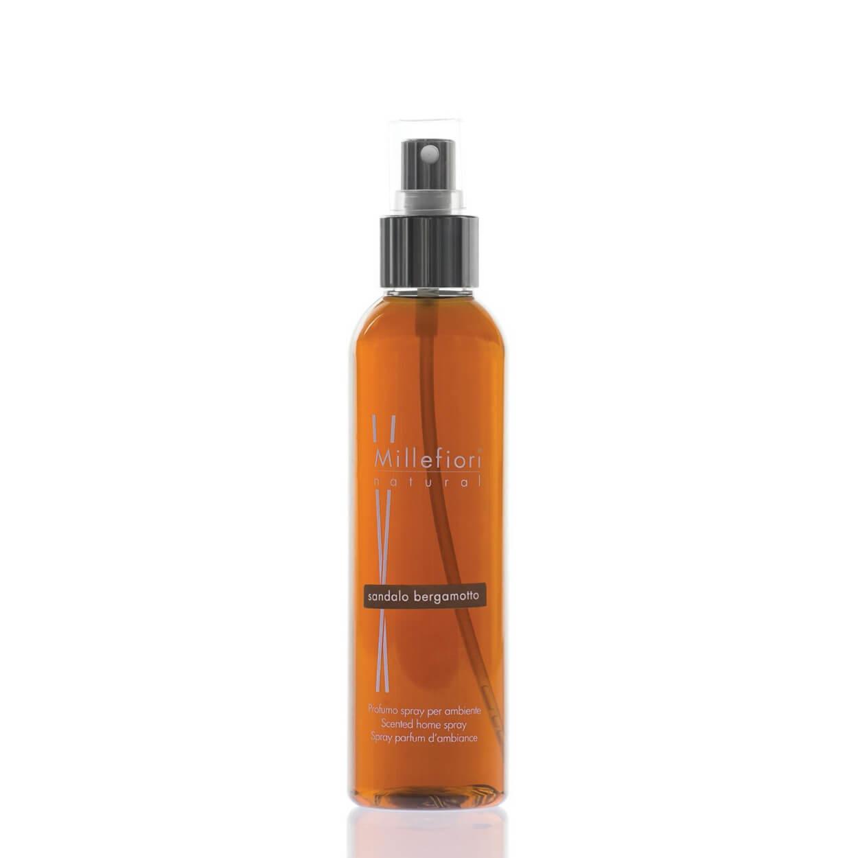 Home Spray 150ml Sandalo Bergamotto | Millefiori Milano