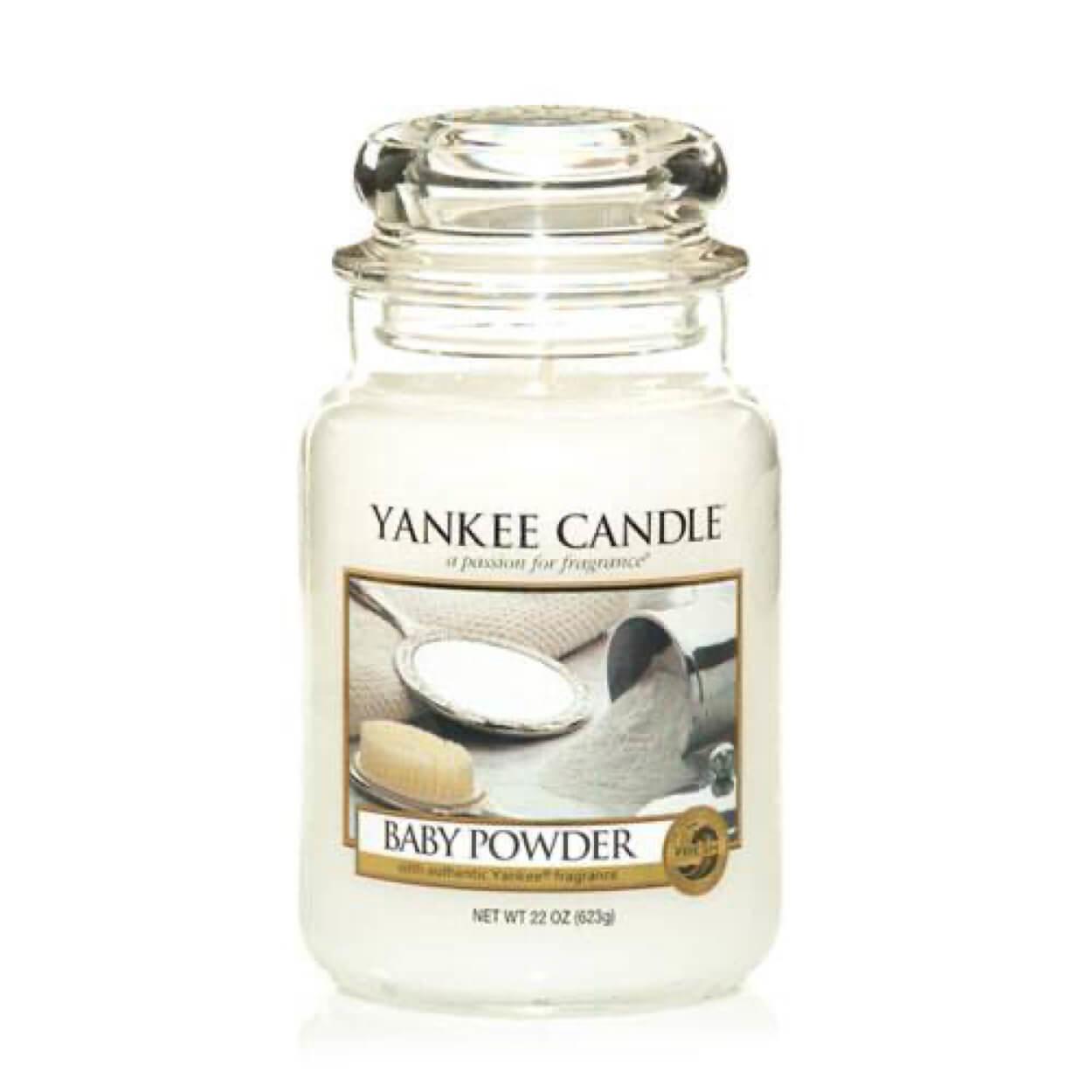 Baby Powder Large Jar | Yankee Candle