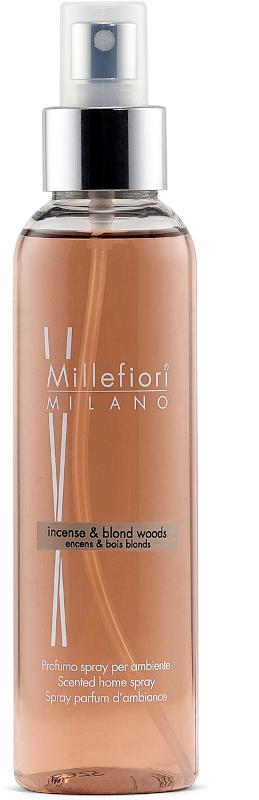 Home Spray 150ml Incense & Blond Woods | Millefiori Milano
