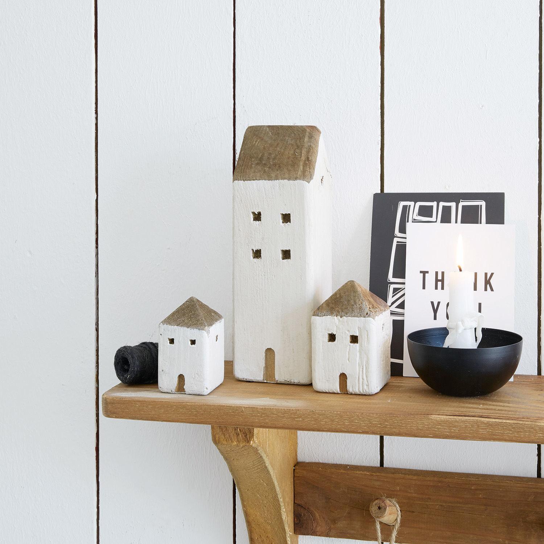 Decoratieve huisjes, set van 3 Lormont | LOBERON | 4250769290297