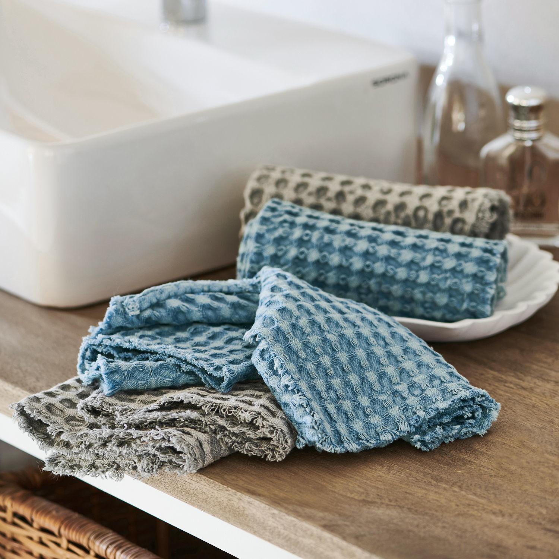 Handdoek set van 4 Dunne | LOBERON | 4251887603037